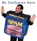 image: no spam confusion