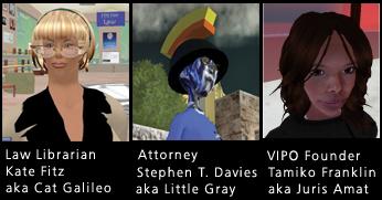 Image: virtual world law avitars