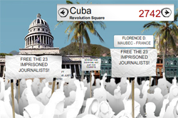 Image: Online Protest in Cuba