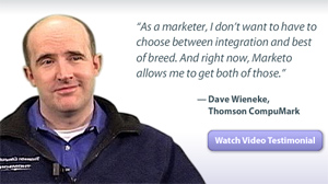 See video: Dave Wieneke likes what he's seen of Marketo