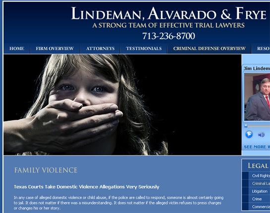 lindeman alvarado frye kiddie violence defense