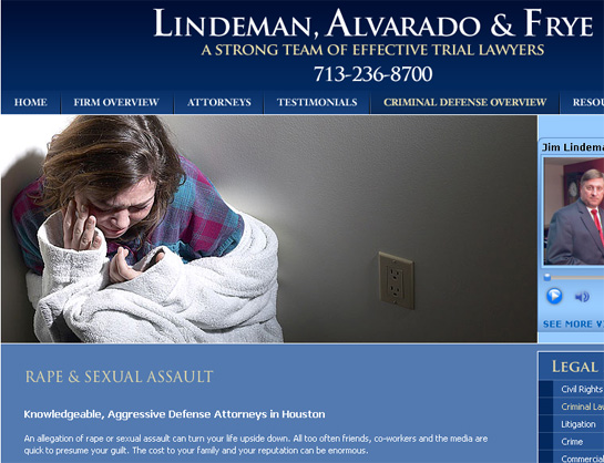 lindeman alvarado frye rape defense