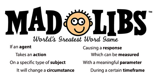 MadLibs can improve hypothesis formation by asking helpful routine questions.